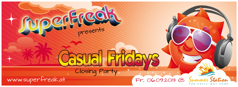 Superfreak! presents Casual Fridays